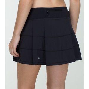 Lululemon Womens Pace Revival Skirt Skort  Pleated